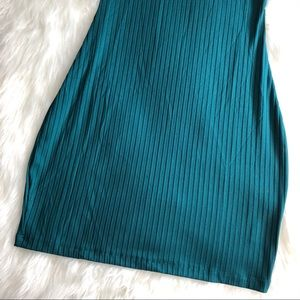 Kendall & Kylie Tops - Kendall & Kylie • Teal Fitted Tunic